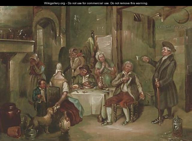 The unwelcome visitor - Sir David Wilkie