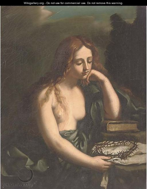The Penitent Magdalen 3 - Giovanni Francesco Guercino (BARBIERI)