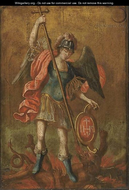 Saint Michael - Giovanni Francesco Guercino (BARBIERI)