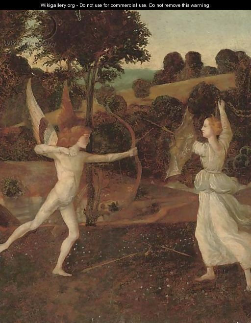 Cupid and Psyche - (after) Giovanni Bellini