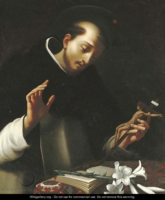 The Penitent Saint Dominic - (after) Carlo Dolci