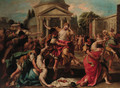 The Rape of the Sabines - (after) Carlo Carlone