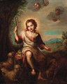 The Infant Saint John the Baptist - Bartolome Esteban Murillo