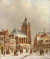 Town in winter - Pieter Gerard Vertin
