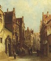A Dutch town in summer - Pieter Gerard Vertin