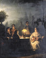 The Evening Serenade - Petrus Van Schendel