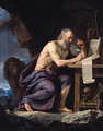 Saint Jerome in the Wilderness - Philippe de Champaigne