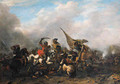 A cavalry skirmish - Philips Wouwerman