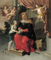 The Education of the Virgin - Pieter van Lint