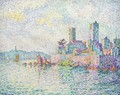 Antibes. Les tours - Paul Signac