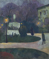 Le square au reverbere - Paul Serusier