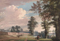 The North Front of Windsor Castle from Datchet Lane - Paul Sandby