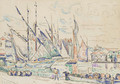 Le port de St. Tropez - Paul Signac