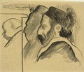Portraits of Meyer de Haan and Mimi - Paul Gauguin