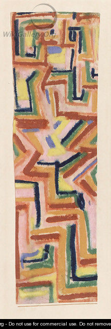 Teppich  Paul Klee  WikiGalleryorg, the largest gallery
