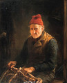 Mending the Lobster Pot - Otto Leyde