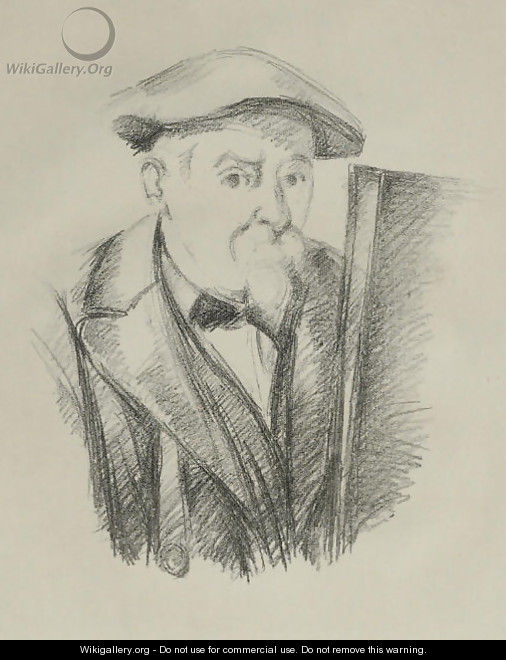 Autoportrait - Paul Cezanne