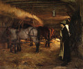 In the Stable - Pascal Adolphe Jean Dagnan-Bouveret