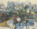 Grand bouquet de fleurs - Paul Cezanne
