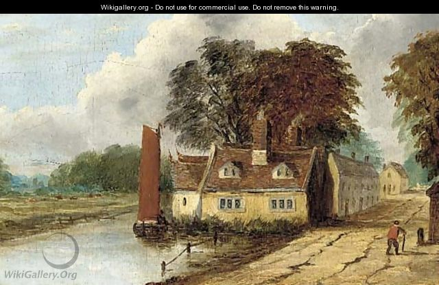 Cottages at Thorpe, Norwich - Obadiah Short