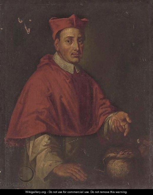 Portrait of a Cardinal - North-Italian School