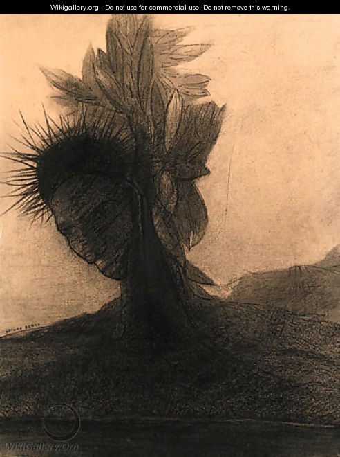 Head-tree - Odilon Redon