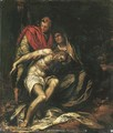 The Lamentation - Orazio Farinati