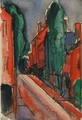 Fall River - Oscar Bluemner