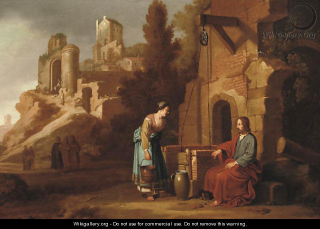 Christ and the Woman of Samaria - Claes Cornelisz Moeyaert