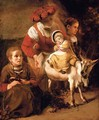 The Spanish gypsy - Nicolaes Maes