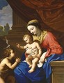 The Virgin and Child with Saint John the Baptist - Nicolas Mignard