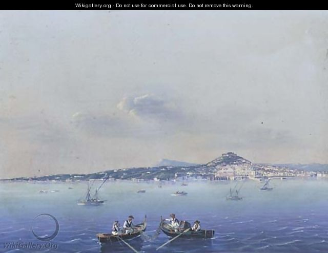 The Bay of Naples - Neapolitan School