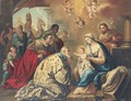 The Adoration of the Magi - Neapolitan School
