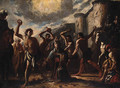 The Stoning of Saint Stephen - Neapolitan School