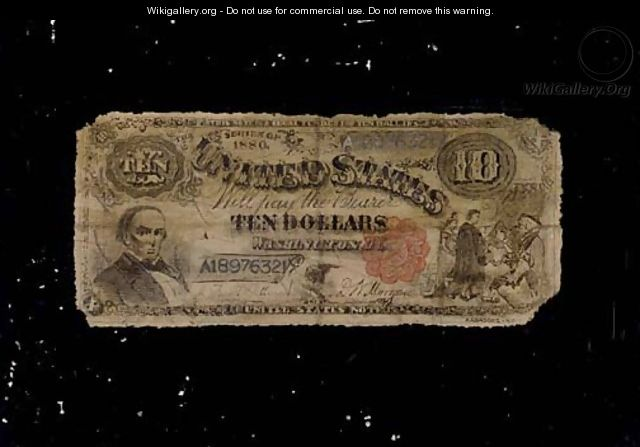 Ten Dollar Bill - Nicholas Alden Brooks