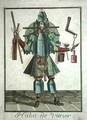 The Glazier's Costume - Family of Engravers Bonnart