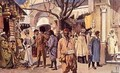 Parc au Trocadero: The Tunisian Exhibition, Entrance to the Souk or Public Market - Louis Bombled