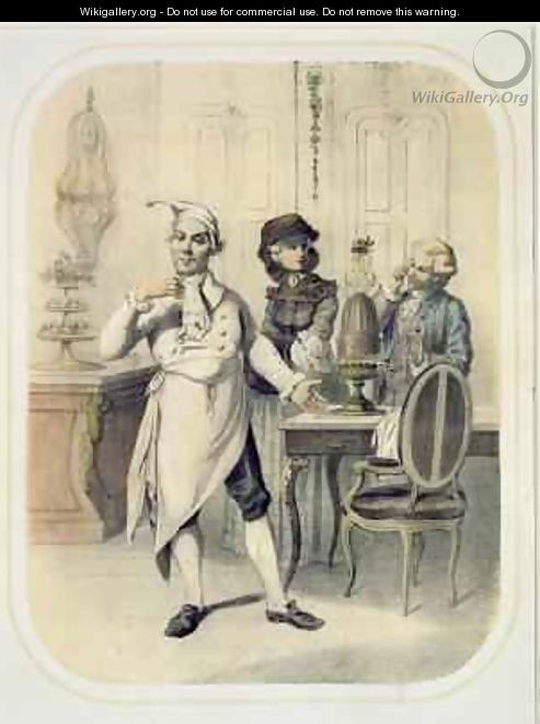 Pride in the Kitchen - (after) Louis Leopold Boilly