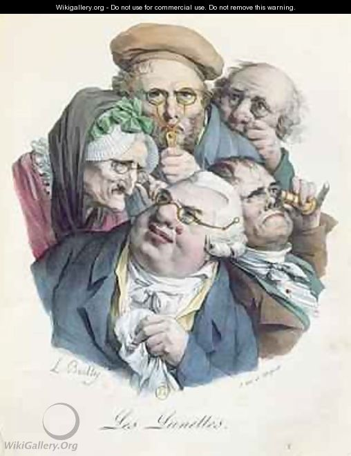 The Glasses - (after) Louis Leopold Boilly