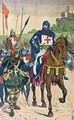 Departing for the Crusades - Louis Bombled