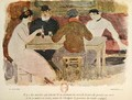 Workers drinking - Georges Bottini