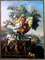 Coupe with Flowers and Fruit - Jean Francois Bony