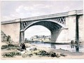Nash Mill Bridge, near King's Langley, Hertfordshire - John Cooke Bourne