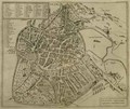 Map of Vicenza - Georg and Hogenberg, Franz Braun