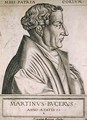 Martin Bucer (1491-1551) at the age of 53 - Rene Boyvin