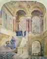 Design for the staircase of Leeds Town Hall - Cuthbert Brodrick