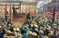 Vladimir Ilyich Lenin (1870-1924) Addressing the Red Army of Workers on 5th May 1920 - Isaak Israilevich Brodsky