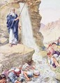 Calling on the name of Jehovah, he struck the rock - Charles Edmund Brock