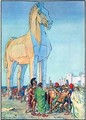 The Trojan Horse - Charles Edmund Brock