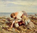 Collecting Shells - William Marshall Brown